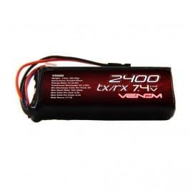 LIPO 2S 1P 7.4V 2400 RX