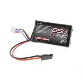 LiFe 2S 6.6v 850 MAH 10c