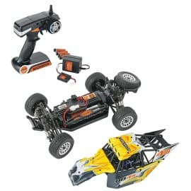Dromida Desert Buggy 4WD DB4.18BL, 1/18 Scale RTR, 2.4GHz W/Battery/Charger