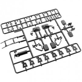 exterior detail parts set black