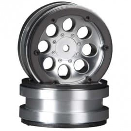1.9 beadlock wheels satin chrome