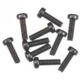 Cap Head M2x6mm Black Oxide (10)