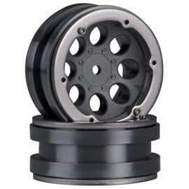 1.9 beadlock wheels black