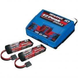 "Traxxas EZ-Peak Dual Multi-Chemistry Battery Charger w/Two ""Power Cell"" Batteries"