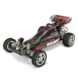 Traxxas 1/10 Bandit XL-5 Buggy TQ/Battery/Charger Silver