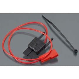 Telemetry connector power tab