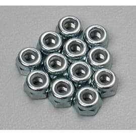 3mm nylon lock nuts 12pcs