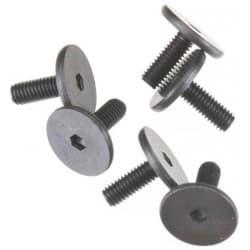 Traxxas Flat Head Machine Hex Drive Screws 3x8mm (6)