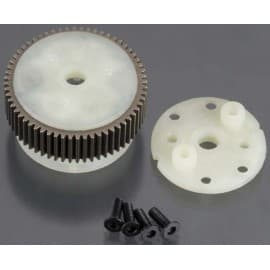 MAIN DIFF W/ STEEL RING GEAR/ SIDE COVER PLATE/ SC REWS (BAN