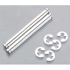 Traxxas Suspension Pins 31.5mm Chrome w/E-Clips
