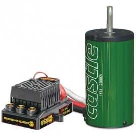 Castle Creations 1/8 Sidewinder 8th ESC + 2200kV Motor