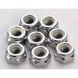 Wheel Nuts 5mm nylon locking (8)