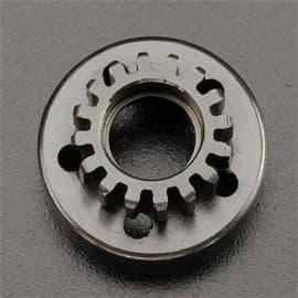 Clutch Bell 16T/Fiber Washer/E-Clip Revo (2)