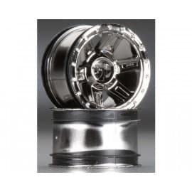 "2737-11 Desperado 2.2"" Black Chrome Front/Rear Wheels"