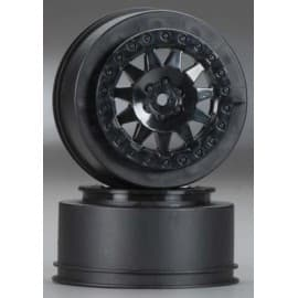 "Pro-Line F-11 2.2""/3.0"" Black Wheels, PRO-2 SC, SCTE 4x4, SC10RS 2WD, SC10 4x4, SCT410 and all ProTrac Kits Front or Rear"