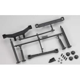 Extended Front/Rear Body Mounts Slash 2WD