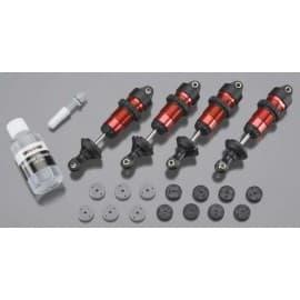 Shocks GTR Aluminum Red-Anodized