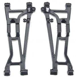 SUSPENSION ARMS FRONT LEFT & RIGHT EXO CARBON FINISH