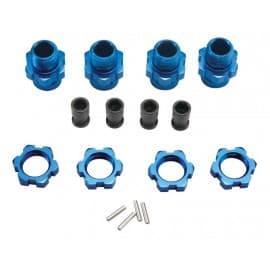 17mm wheel hubs blue