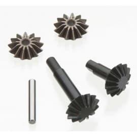 center differential gear set