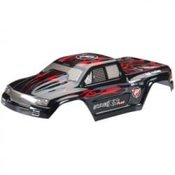 HPI Racing GT-2XS Painted Body Red/Black/Gray