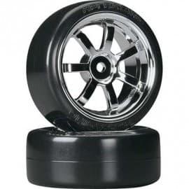 HPI Racing T-Drift/Rays 57S Wheel 26mm Chrome (2)
