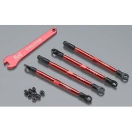 Toe Links Aluminum Red VXL