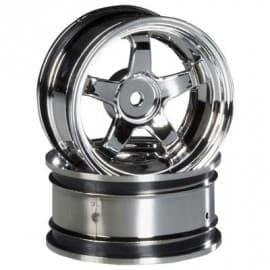 Work Meister S1 wheel 26mm chrome 6mm offset