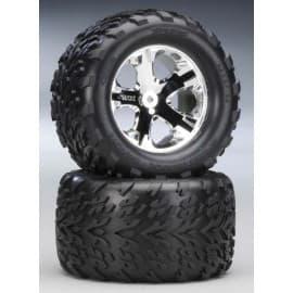 "Traxxas Talon 2.8"" Rear Tires On All-Star Stampede (2)"
