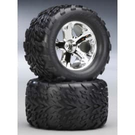 """Traxxas Talon 2.8"""" Front Tires On All-Star Stampede (2)"""