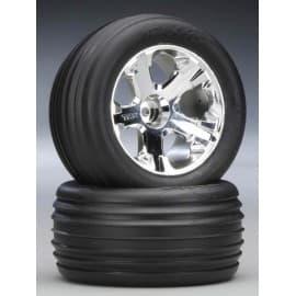 Traxxas Alias Tires/All-Star Wheels Assm Front 2.8 (2)