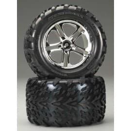Traxxas Talon Tires/SS Chrome T-Maxx/Revo (2)