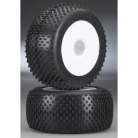 """Traxxas Response Pro 3.8"""" Tires/Dish Wheels (2)"""