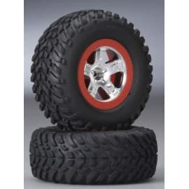 Tires and Wheels SCT off road Rear