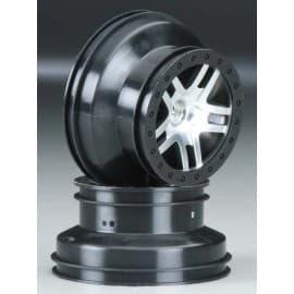Traxxas Wheels SCT Split-Spoke Slash 2WD Front (2)