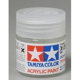 Acrylic/Poly X20A Thinner 3/4 oz