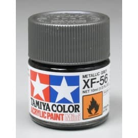 Tamiya Acrylic Mini XF-56 Metallic Gray 1/3 oz