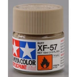 Tamiya Acrylic Mini XF-57 Buff 1/3 oz