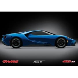 4-Tec 2.0 1/10 RTR Touring Car w/Ford GT Body (Blue)