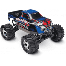Traxxas Stampede 4X4 Brushed 1/10 RTR Monster Truck (Blue)