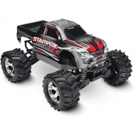 Traxxas Stampede 4X4 Brushed 1/10 RTR Monster Truck (Silver)