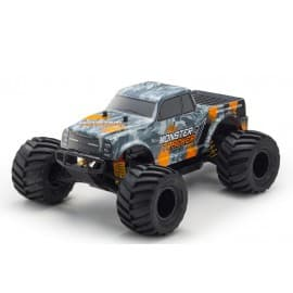 Kyosho Monster Tracker 2WD EP 1/10 RTR Ready Set (Orange)