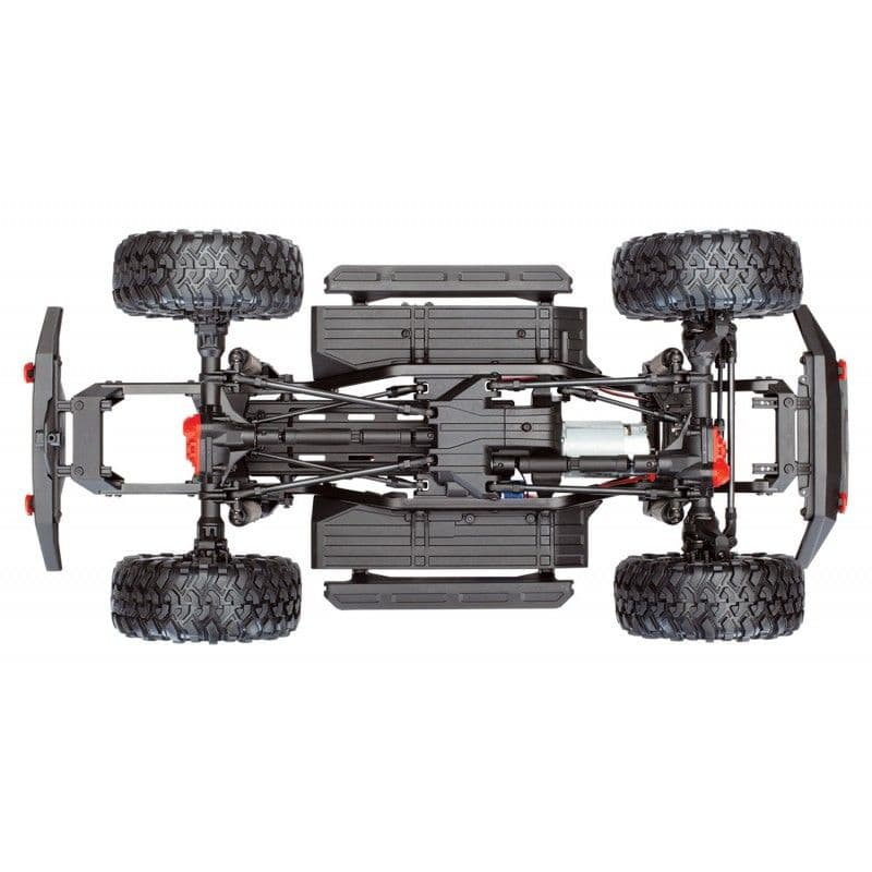 Traxxas TRX-4 Sport RTR 1/10 Scale Trail Rock Crawler (Red) - RC ...