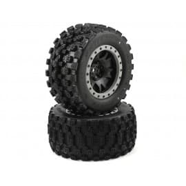 Pro-Line Badlands MX43 Pro-Loc Pre-Mounted All Terrain Tires (MX43) for Traxxas X-maxx