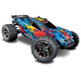Traxxas Rustler 4X4 VXL 1/10 Brushless Stadium Truck RTR Red/Yellow