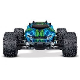 Traxxas Rustler 4X4 VXL 1/10 Brushless Stadium Truck RTR Green