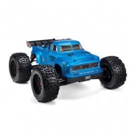 Arrma 1/8 NOTORIOUS 6S 4WD BLX Brushless Classic Stunt Truck with Spektrum RTR BLUE