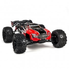 NEW ARRMA 1/8 KRATON 6S BLX 4WD Brushless Speed Monster Truck with Spektrum RTR red