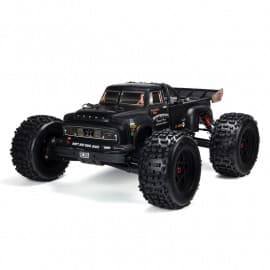 Arrma 1/8 NOTORIOUS 6S BLX 4WD Brushless Classic Stunt Truck with Spektrum RTR black