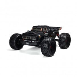 Arrma 1/8 Painted Body, Black Real Steel: Notorious 6S BLX